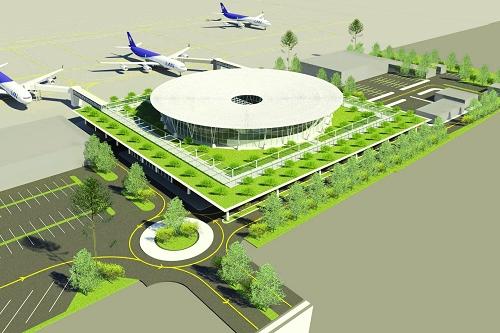 Mô hình thiết kế Nhà ga hành khách – Cảng hàng không Phù Cát