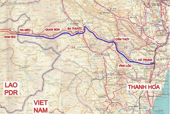 Dự án nâng cấp QL217 dài 195,4 km