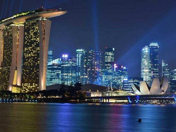 Khu trung tâm với rất nhiều các tòa nhà cao tầng hiện đại.