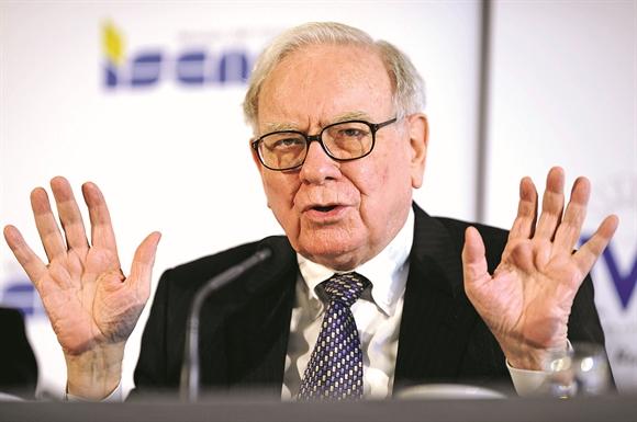 Warren Buffett, Tổng Giám đốc Tập đoàn Berkshire Hathaway - Ảnh: nypost.com