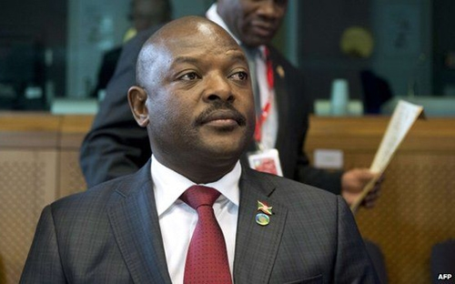 Tổng thống Burundi Nkurunziza