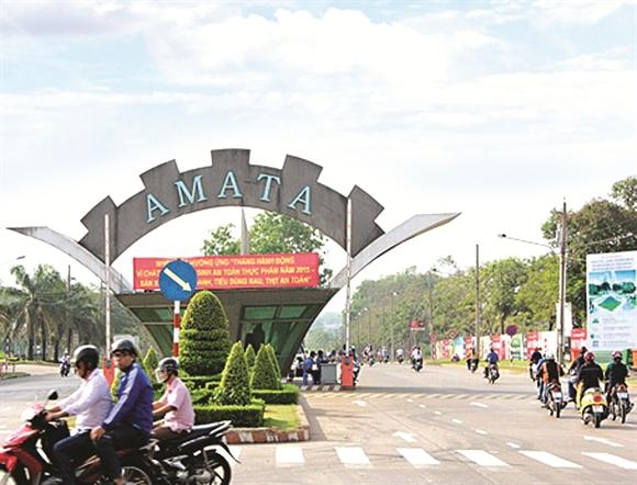 Khu Công nghiệp Amata Biên Hòa, Đồng Nai - Ảnh: baodautu.vn