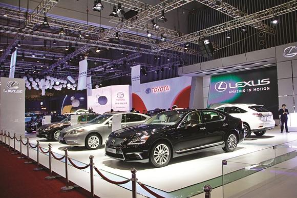 Năm 2015, ngành ôtô Việt Nam sẽ có đến 2 triển lãm lớn diễn ra gần như cùng lúc ở 2 đầu Nam - Bắc - Ảnh: motthegioi.vn