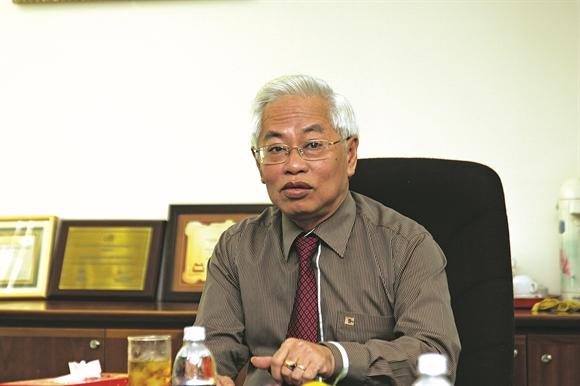 Ông Trần Phương Bình, Tổng Giám đốc Ngân hàng Đông Á - Ảnh: Tuyển Phan