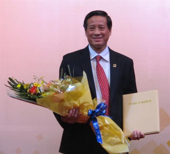Ong Phan Dinh Tan lam Chu tich Nam A Bank