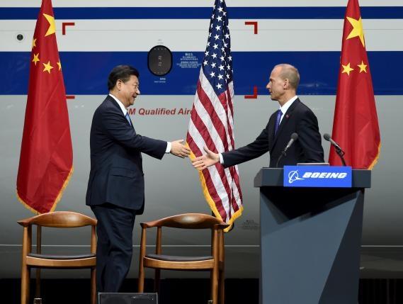Boeing mo nha may dau tien tai Trung Quoc