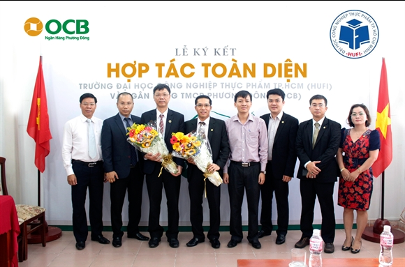 OCB ky ket hop tac voi truong Dai hoc Cong nghiep Thuc pham TPHCM