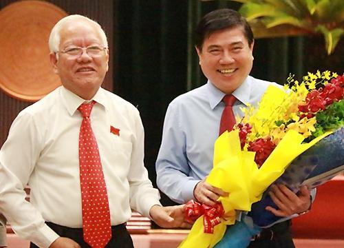 Ong Nguyen Thanh Phong duoc bau lam Chu tich UBND TPHCM