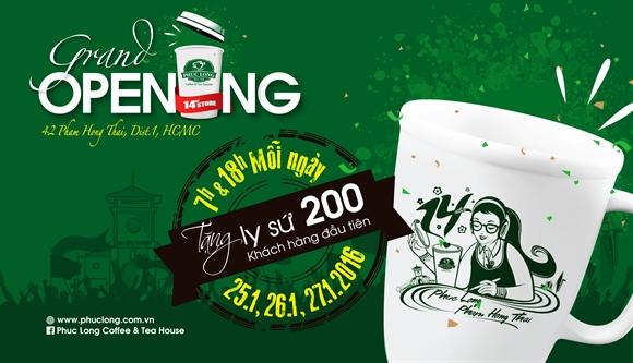 Mung Tet moi – chao don thanh vien moi cua Phuc Long