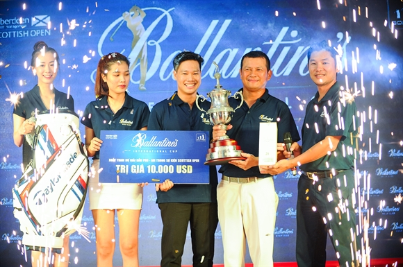 "Giai golf ""Ballantine's International Cup 2016"""