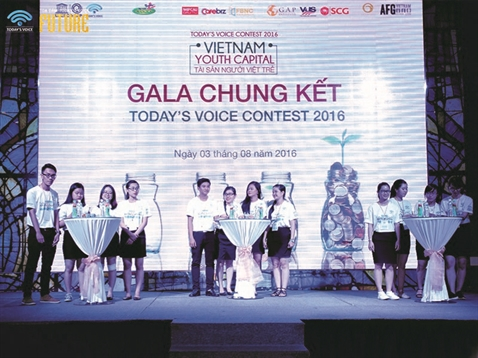 Chung ket Today's Voice Contest 2016 tich hop toa dam Today's Voice lan 4