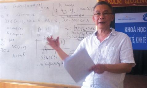 "Giao su Le Van Cuong: ""Toi ton tho dao nang suat"""
