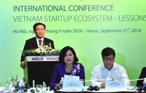 Start-up Viet van tac nhat khau goi von