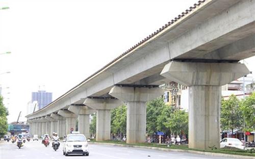 Can canh tuyen duong sat tren cao Cat Linh - Ha Dong