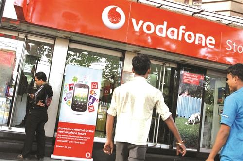 Vodafone khon don vi An Do