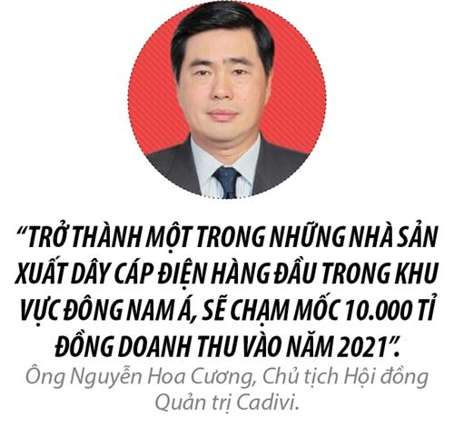 Top 50 2017: Cong ty Co phan Day Cap Dien Viet Nam