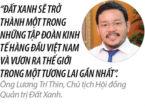 Top 50 2017: Cong ty Co phan Dich vu va Xay dung Dia oc Dat Xanh
