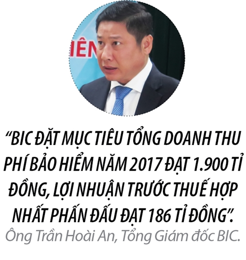 Top 50 2017: Tong Cong ty Co phan Bao hiem Ngan hang Dau tu va phat trien Viet Nam