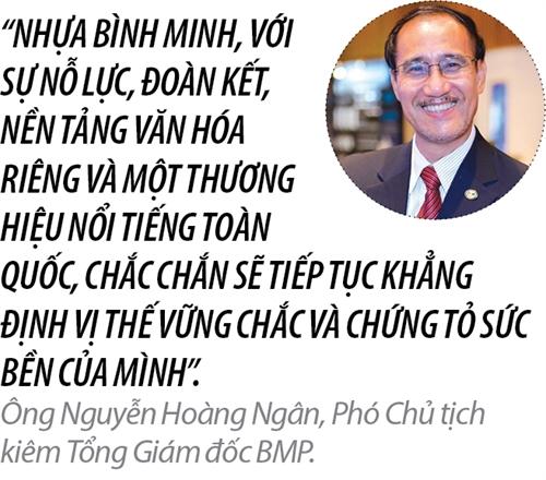 Top 50 2017 - Hang 9: Cong ty Co phan Nhua Binh Minh