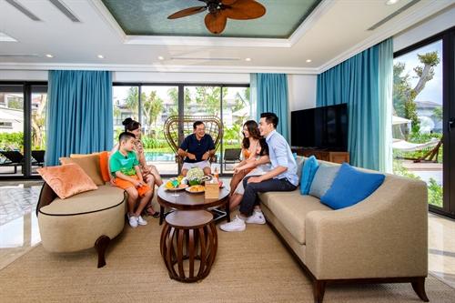 Trai nghiem nghi duong tai Villas Novotel Phu Quoc Resort