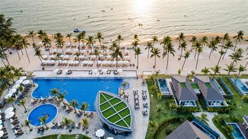 Tan huong trai he tai Villas Novotel Phu Quoc Resort