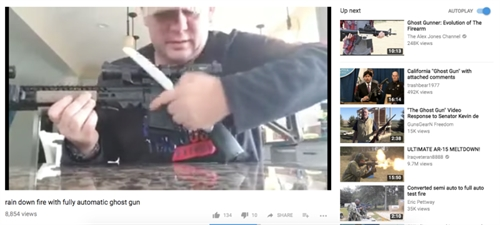 YouTube cam clip huong dan do sung sau vu tham sat Las Vegas