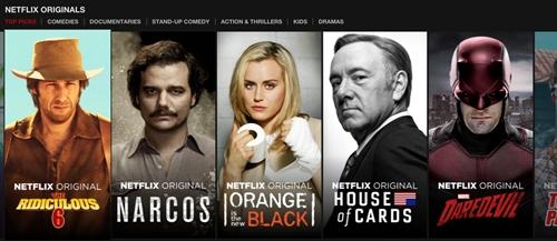 Netflix se chi 8 ty USD san xuat phim trong nam 2018