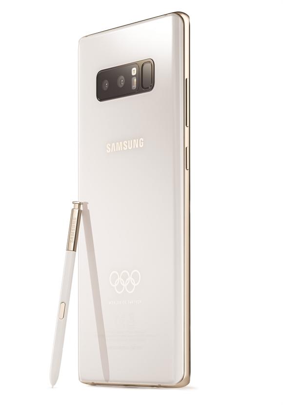 Samsung ra mat phien ban Galaxy Note8 Olympic
