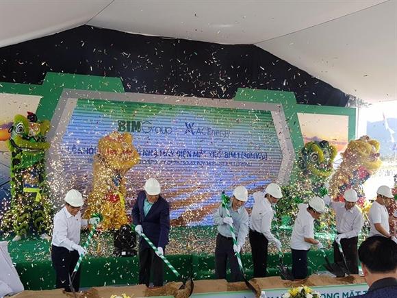 Conergy xay dung trang trai nang luong mat troi dau tien tai Viet Nam