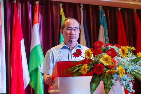 Bi thu TP.HCM Nguyen Thien Nhan: