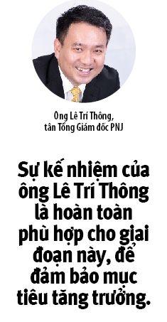Sau 30 nam, PNJ don tan CEO