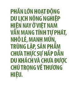 Du lich nong nghiep co tro thanh loi the cua Viet Nam?