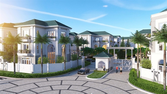 SCC ra mat khu biet thu compound cao cap Sol Villas