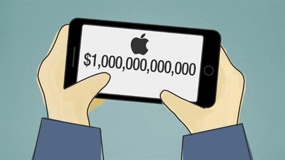 Apple dan dau cuoc dua cac cong ty nghin ty USD tren the gioi