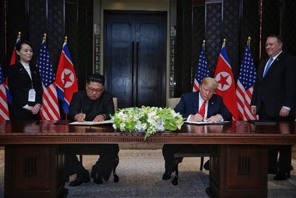 Trump - Kim ky thoa thuan phi hat nhan: Chien tranh se som ket thuc
