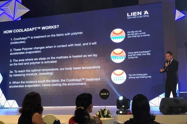 Ong Lam Ngoc Minh, CEO Nem Mousse Lien A: Thi truong la toan cau