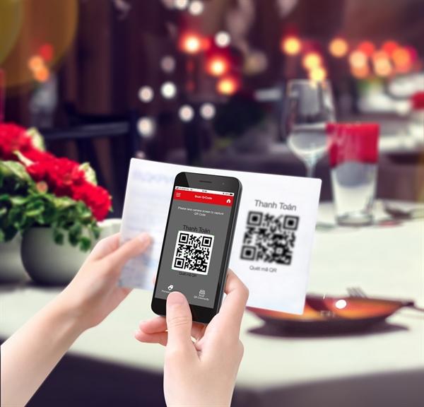 Tu QR code den Samsung Pay: Uu the cua ngan hang 4.0