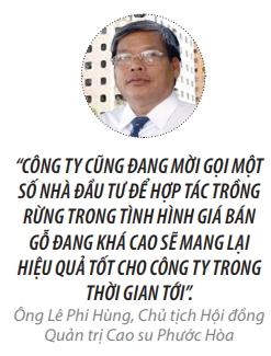 Top 50 2018: Cong ty Co phan Cao su Phuoc Hoa