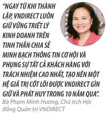 Top 50 2018: Cong ty Co phan Chung khoan VNDIRECT