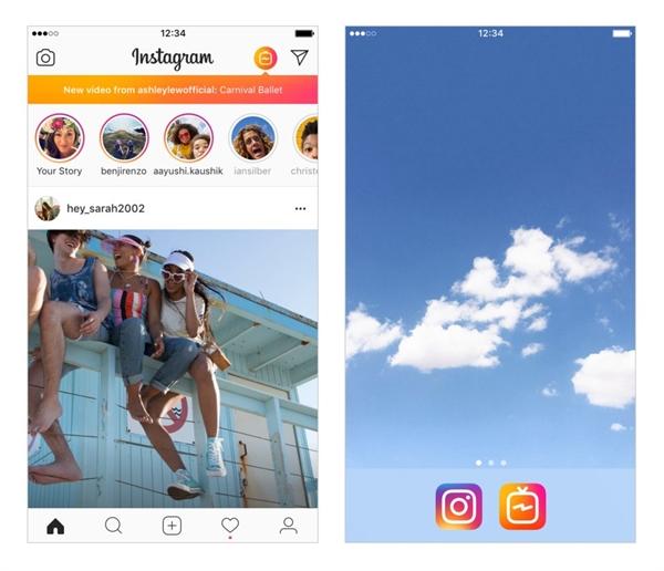 Instagram vua tuyen bo canh tranh voi YouTube