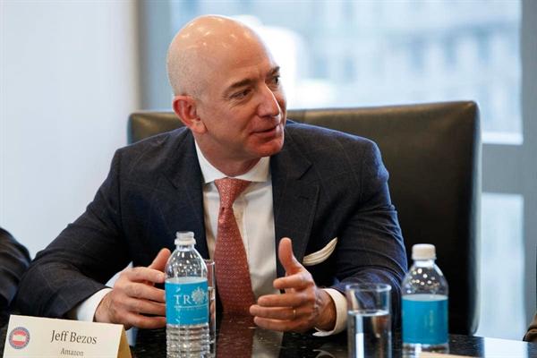 Mot ngay cua ty phu Bezos