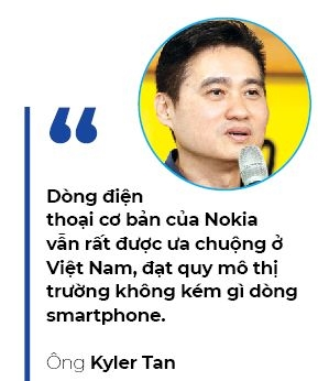 Nokia da tro lai