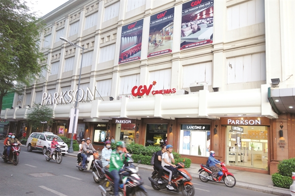 Hoang hon cua Department Store