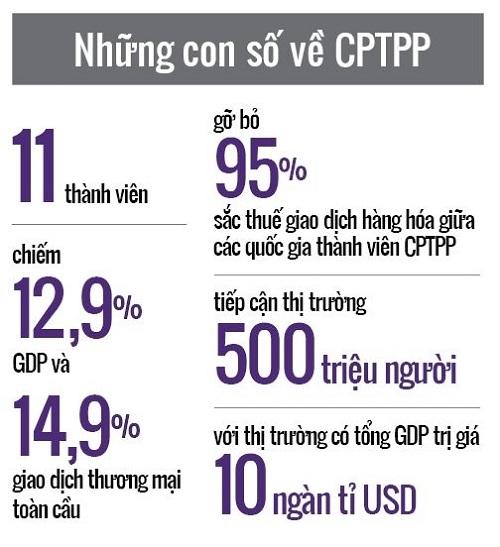 CPTPP: Co hoi cho Viet Nam phat trien nhanh, ben vung