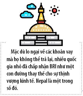 Bay no cua Trung Quoc dang siet chat Nepal