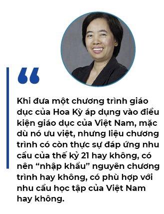 Giao duc Viet Nam: Goc nhin tu giao duc Hoa Ky
