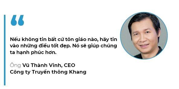 CEO Vu Thanh Vinh: Su song dang gia bao nhieu?