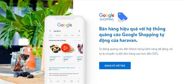 Ra mat nen tang quang cao tu dong tren Google Shopping