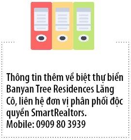Banyan Tree Residences Lang Co: Phong cach song tu nhung biet thu tua nui - huong bien