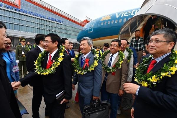 Sun Group khai truong, thong tuyen san bay, cang bien, cao toc tai Quang Ninh
